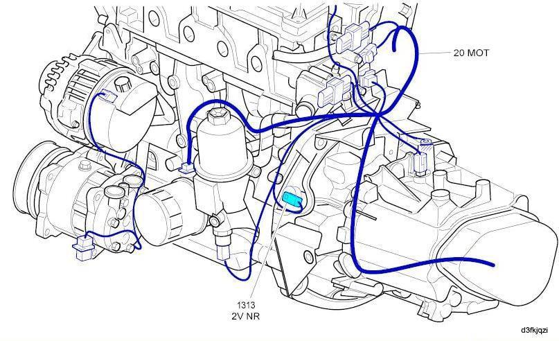 A9REE8B - سنسور دور موتور