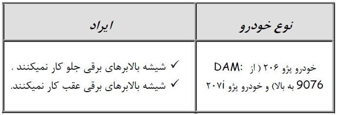 2016 02 27 21 35 28 - متدهای عیب یابی مراحل تست شیشه بالابرهای برقی